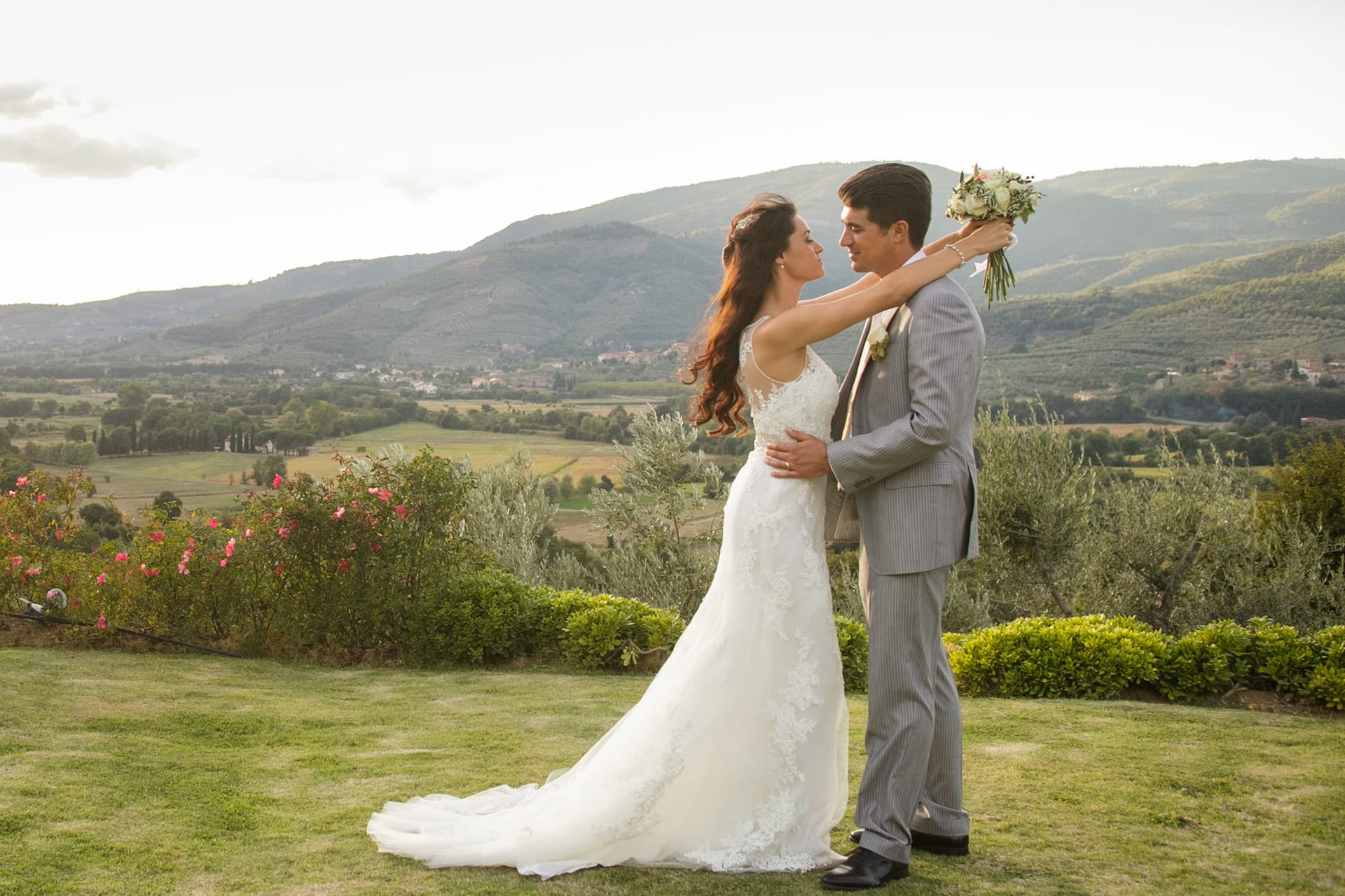 Wedding Planning in Tuscany Italy, famiglia Byuccellett