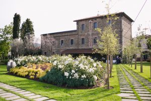 Outdoor wedding Venue in Tuscany